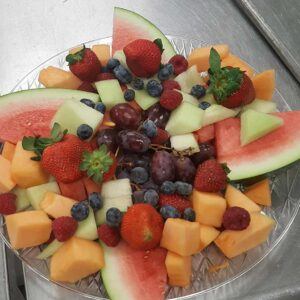 Wedding Reception Fruit Food Trays